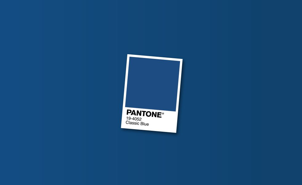 Pantone Color of the Year 2020: Boring Blue