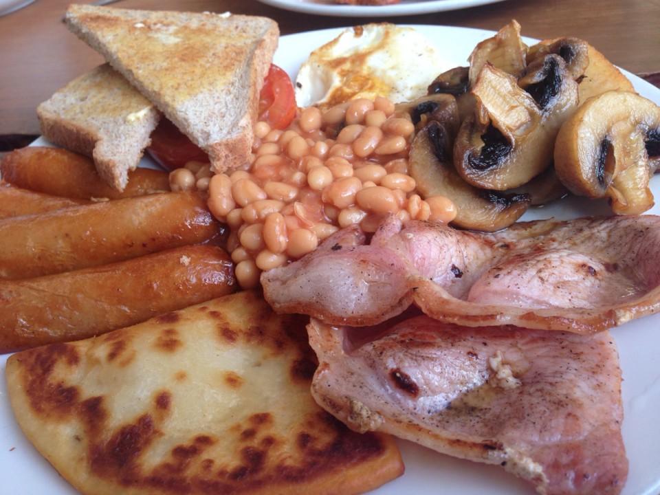 Neulich in Schottland: Jeden Tag Full Scottish Breakfast